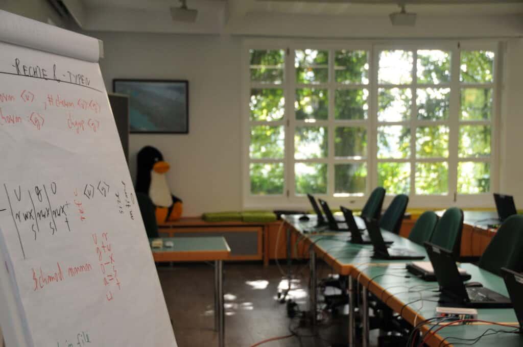Tux in Open-Source-Kurs
